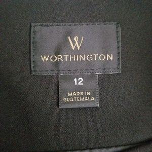Worthington Skirts - Worthington Black Pencil Skirt (Size 12)